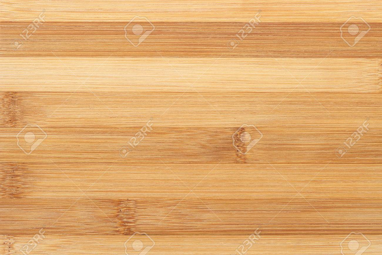 Bamboo cutting board texture, top view, close up - 54526873