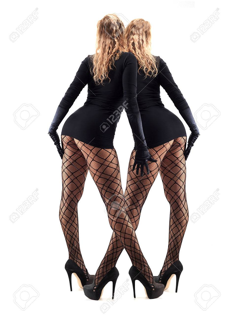 High Heels Beautiful And Sexy In Stockings Legs Stylish Female WeDHIbE9Y2