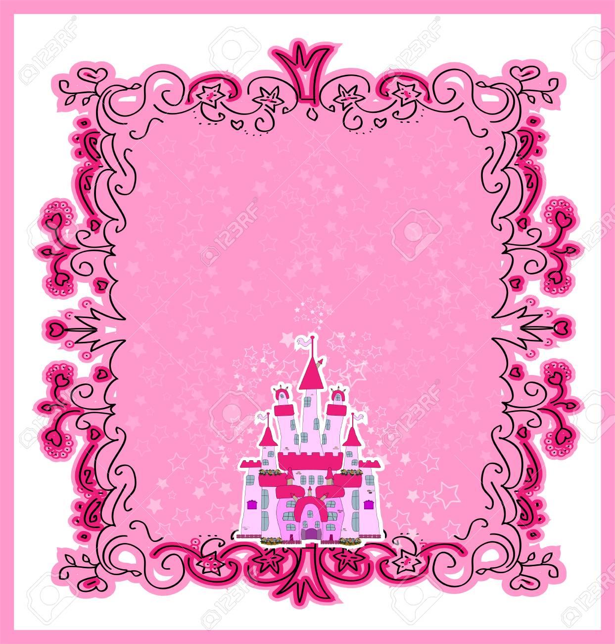 Illustration of Magic Fairy Tale  Princess Castle Stock Vector - 22857371