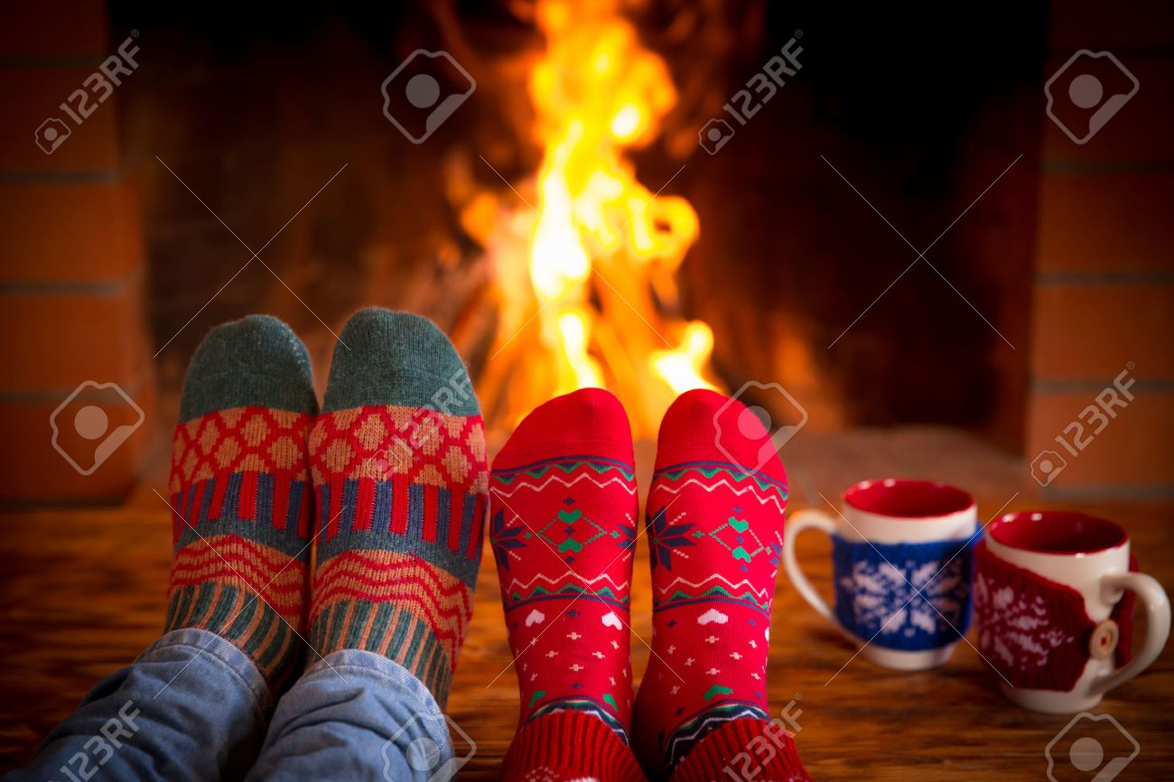 christmas fireplace background stock photos pictures royalty