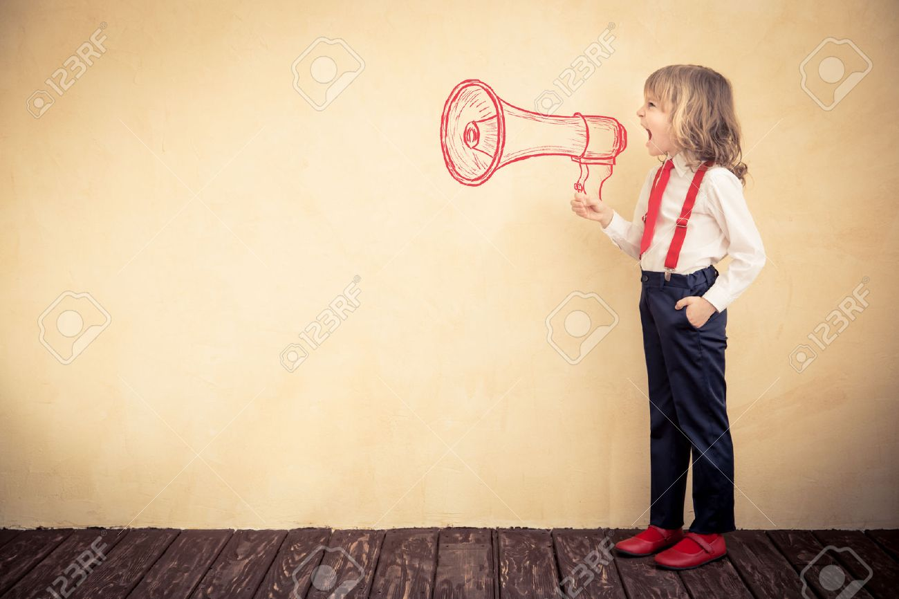 Portrait of young businessman kid in office. Success business communication concept - 52590496