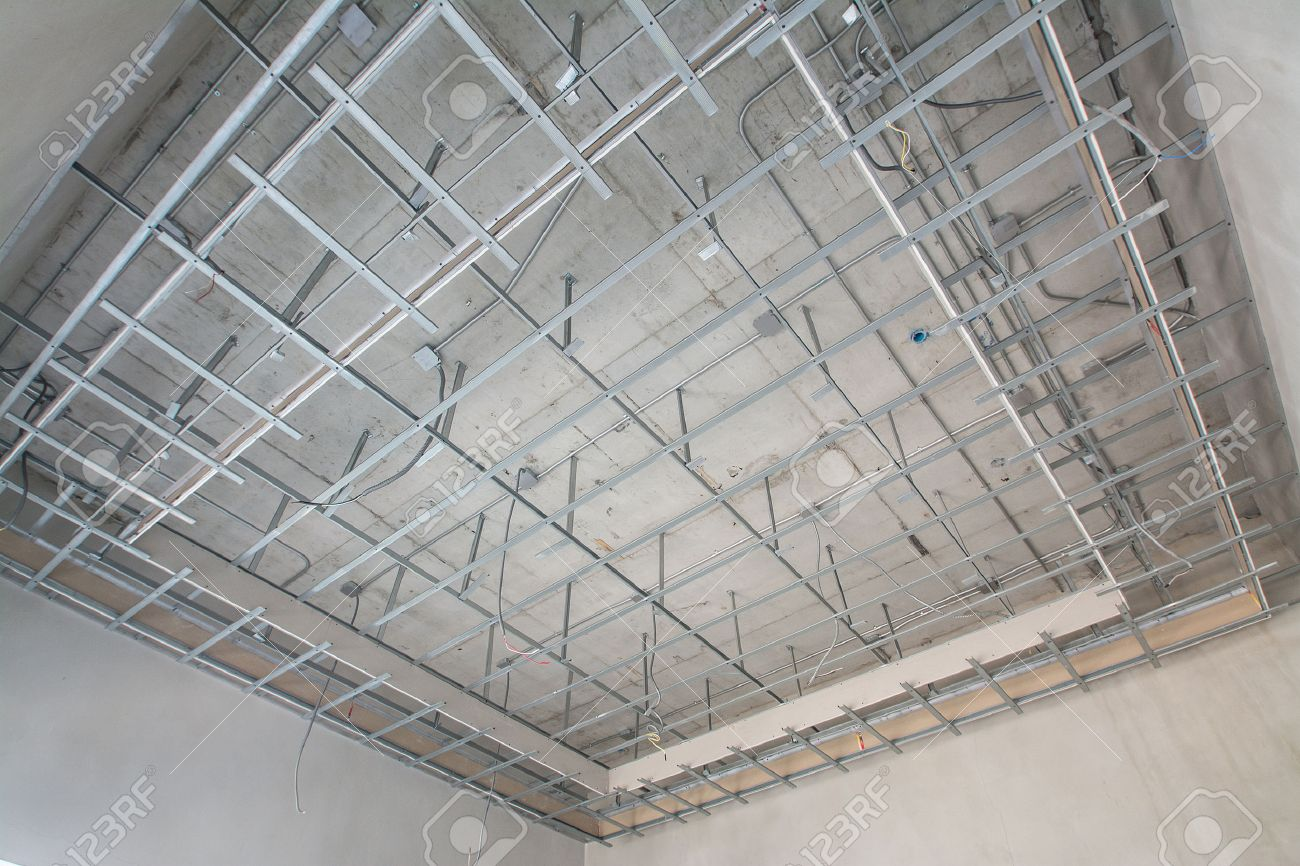 Suspended ceiling structure - 41129869