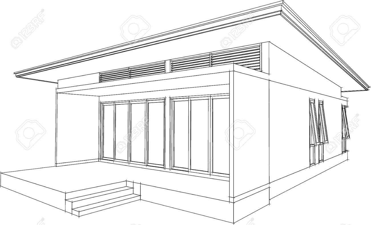 Rsum de rendu 3d de la maison filaire vector illustration clip art banque dimages rsum de rendu 3d de la maison filaire vector illustration malvernweather Choice Image