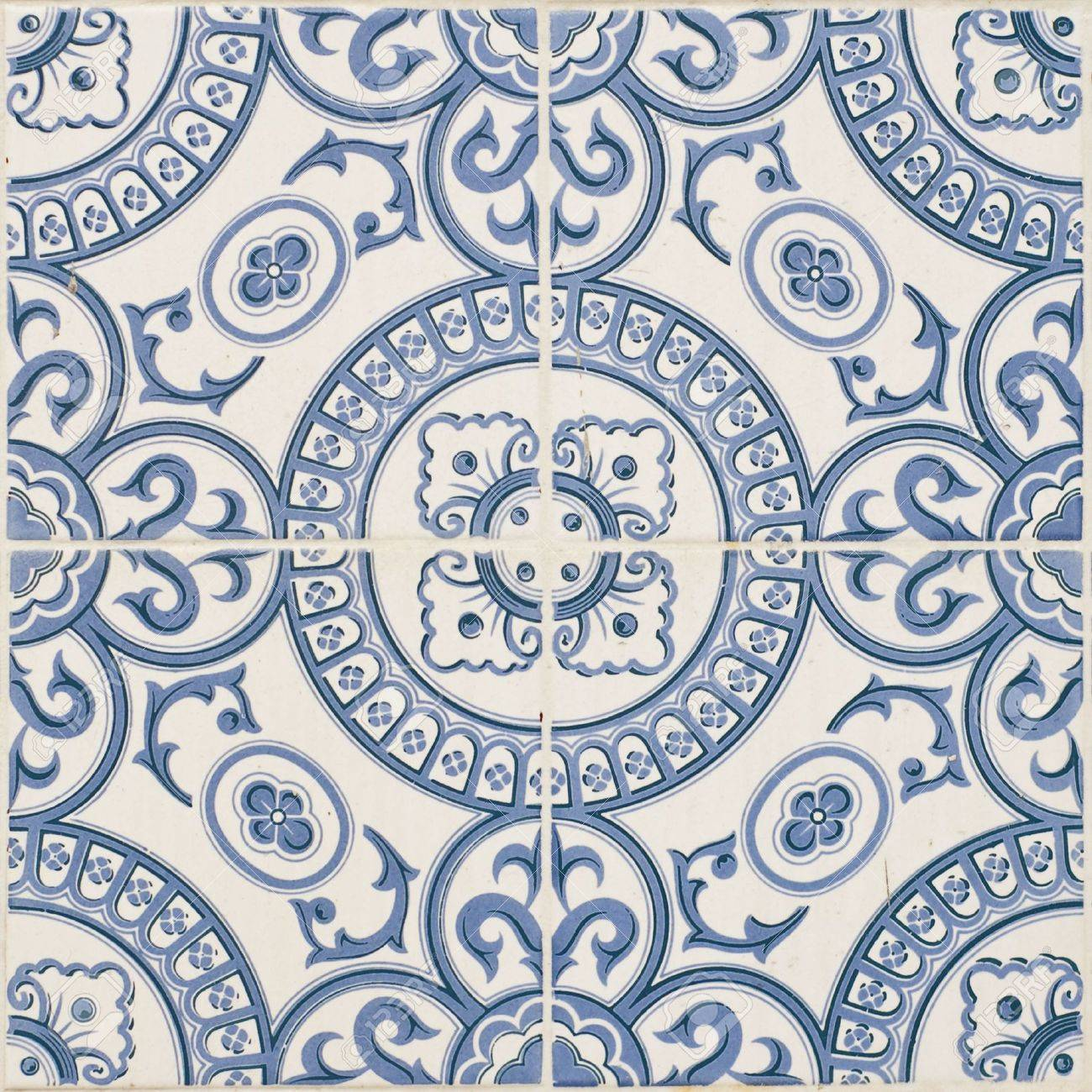 Seamless traditional mosaic pattern for backgrounds,coverage outside of buildings, high-res JPEG. Stock Photo - 6525075