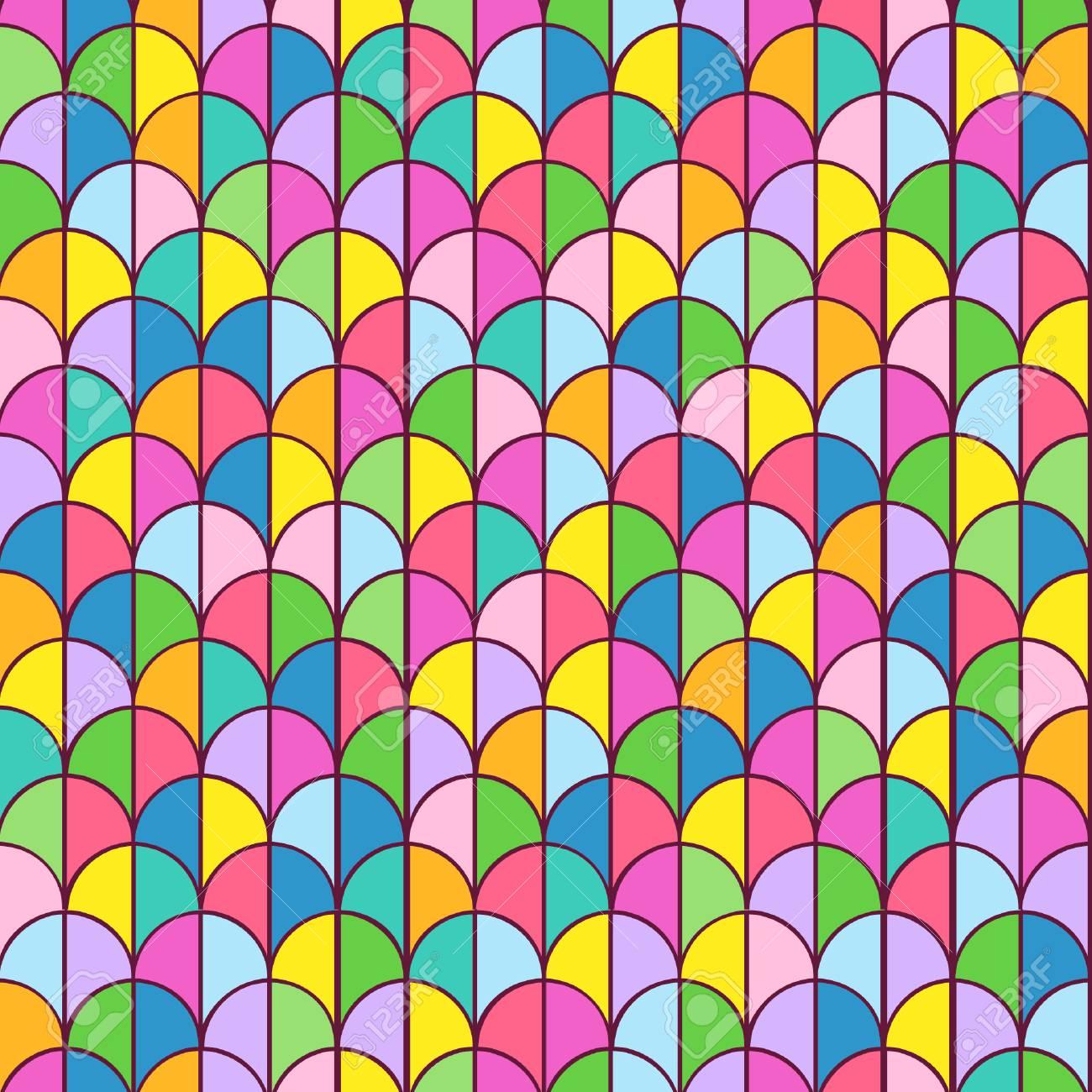 retro art deco seamless patterns design in 20 s style royalty free rh 123rf com art deco geometric pattern vector free art deco fan pattern vector