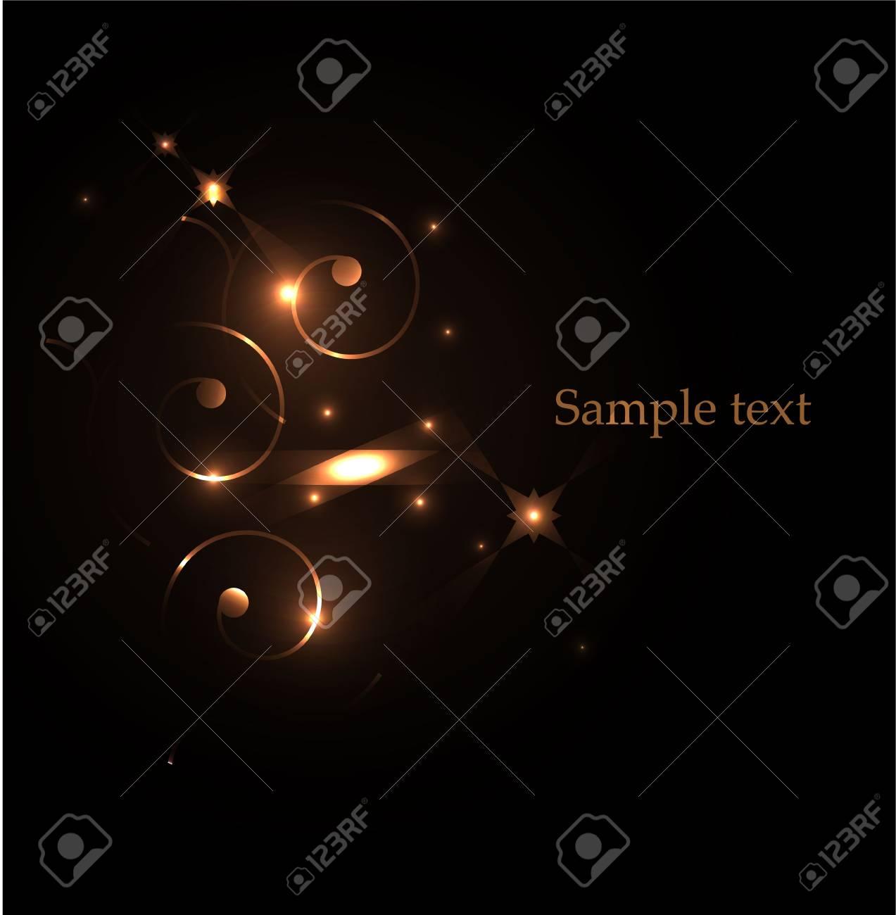 Vector glowing design elements Stock Vector - 17826802