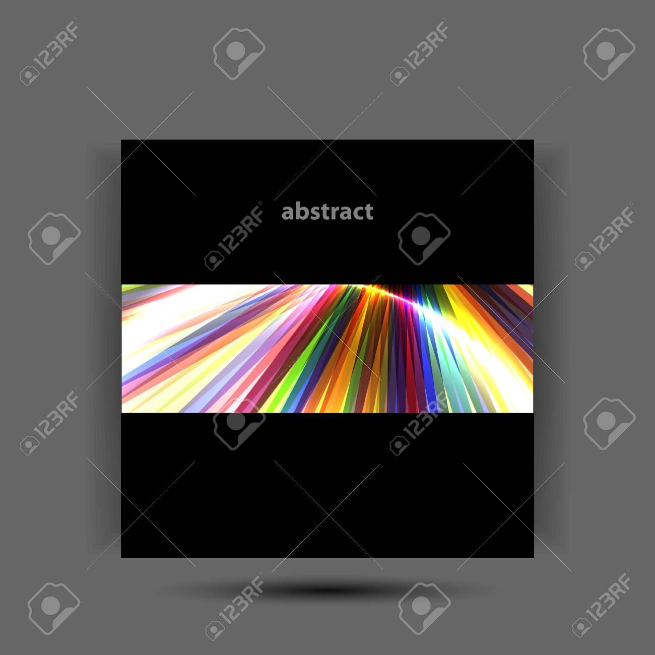 Shiny rainbow vector background Stock Vector - 17826225