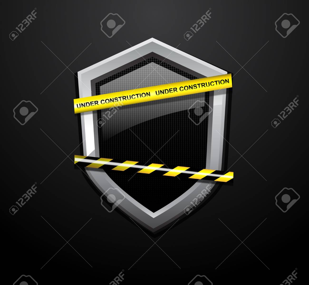 vector page under construction templates royalty free cliparts