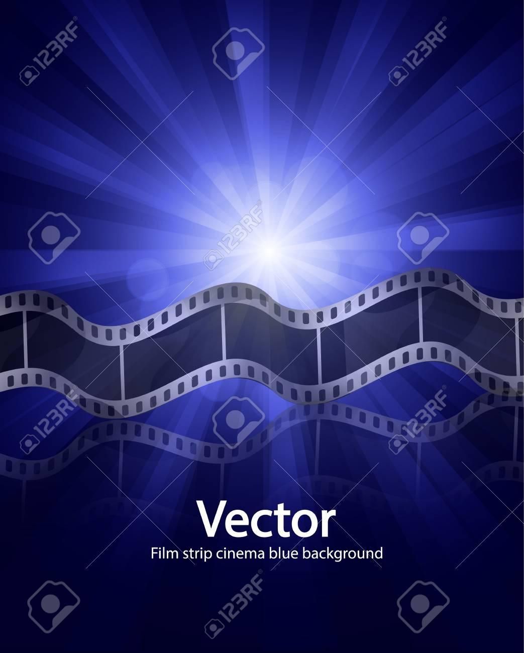 Vector film strip ciinema background Stock Vector - 17827086