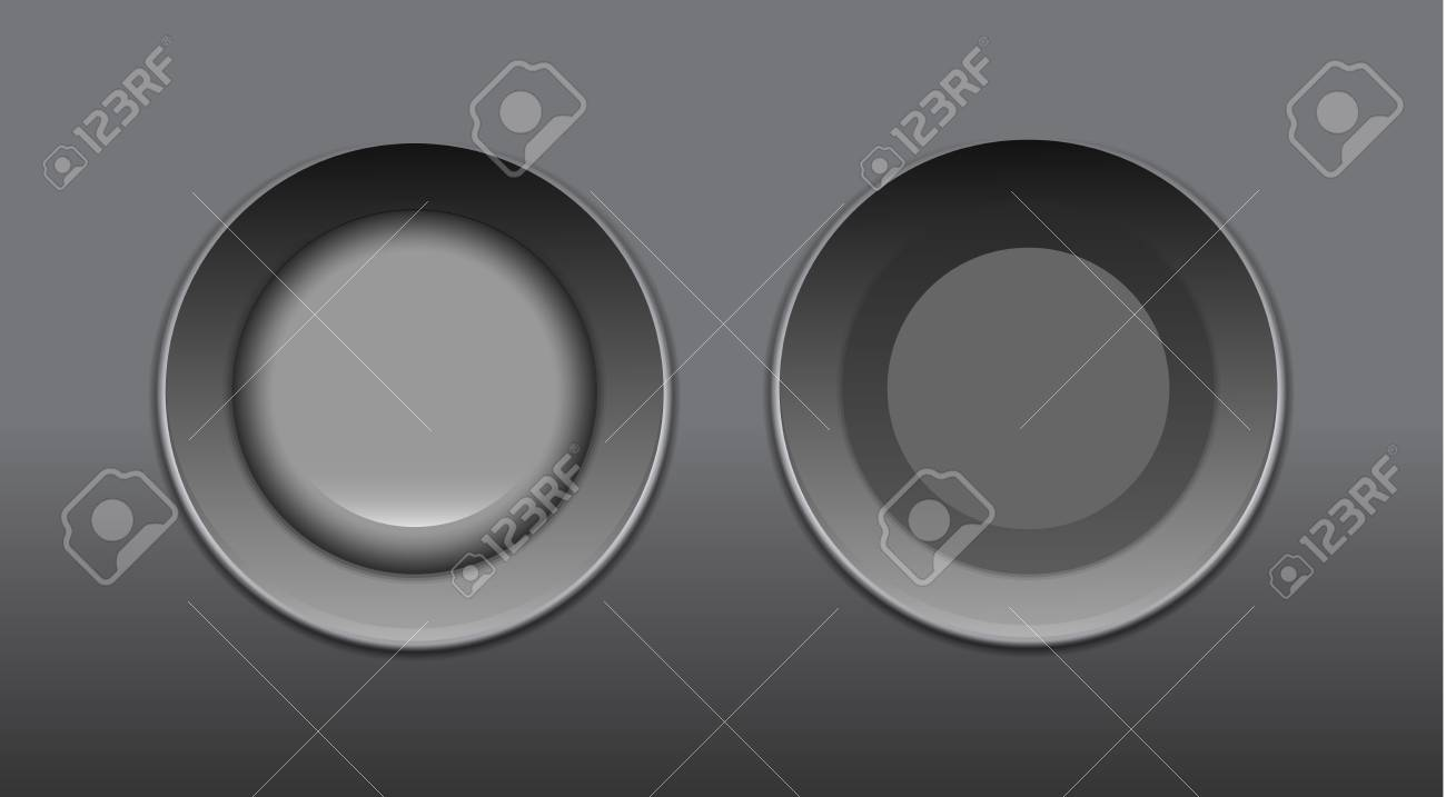 Vector push buttons Stock Vector - 18053613