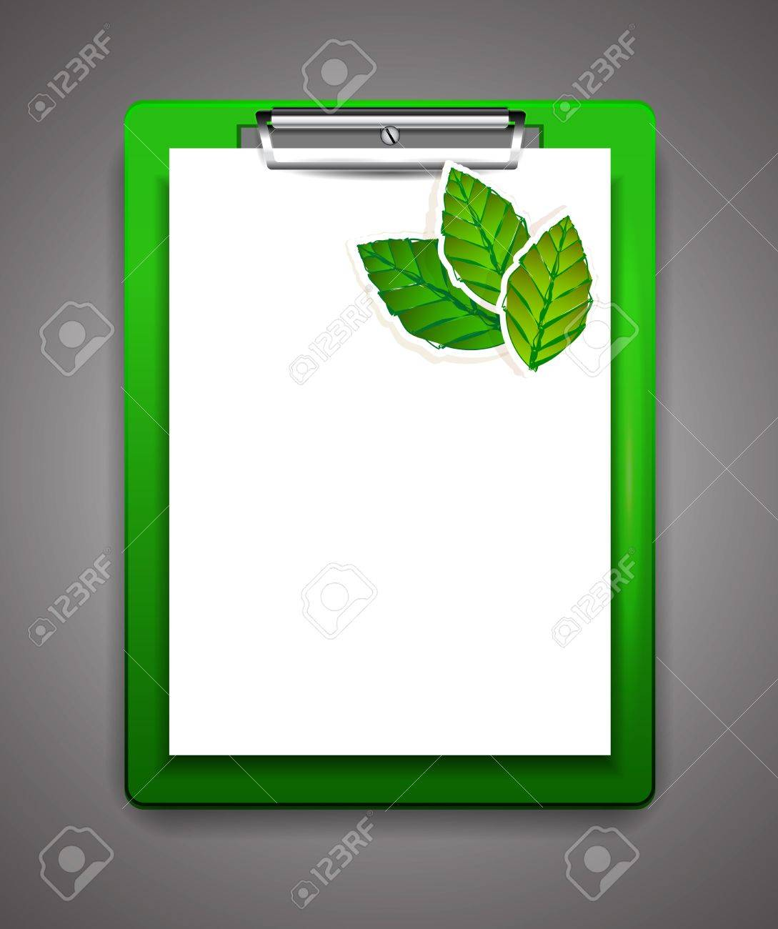 Vector clipboard with blank paper Stock Vector - 18053708