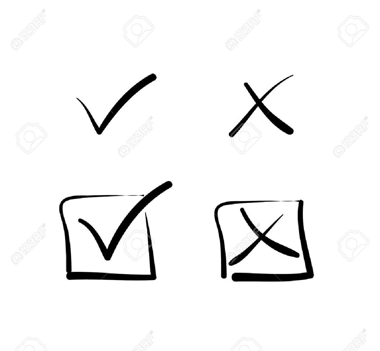 Yes no tick cross box signs royalty free cliparts vectors and yes no tick cross box signs stock vector 37149422 biocorpaavc Gallery