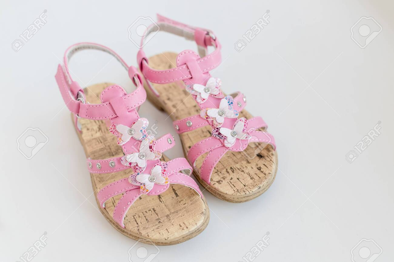 Pink Baby Girl Summer Sandals With