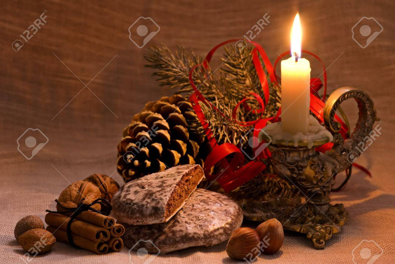 Baroque Christmas Decoration Stock Photo, Picture And Royalty Free ...