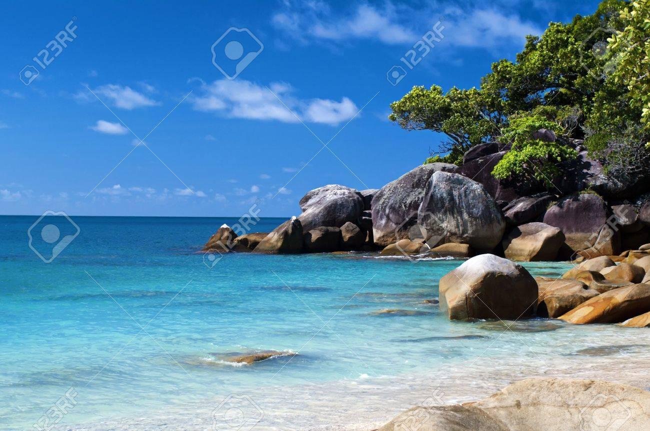 Tropical Lagoon Stock Photo - 8458687