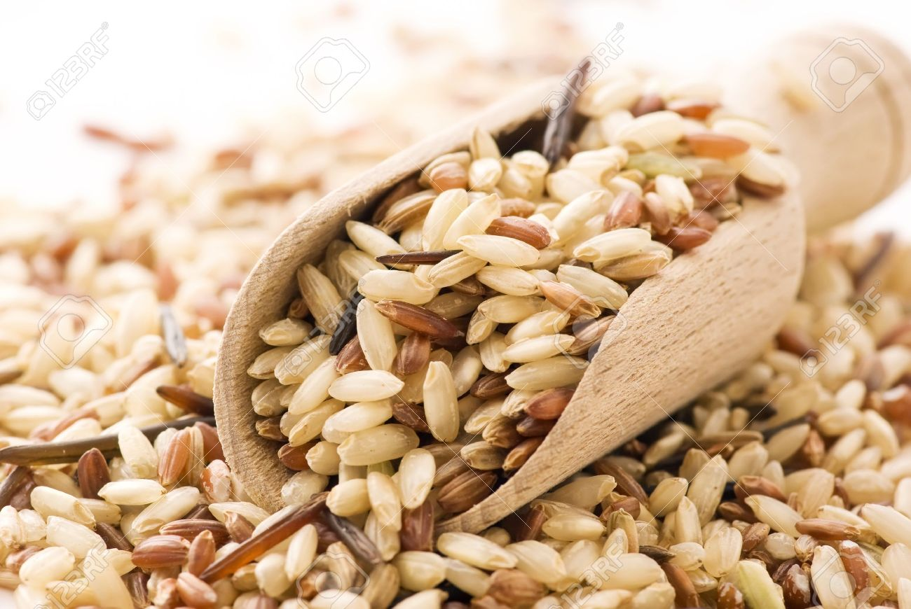 Brown Rice Stock Photo - 9036880