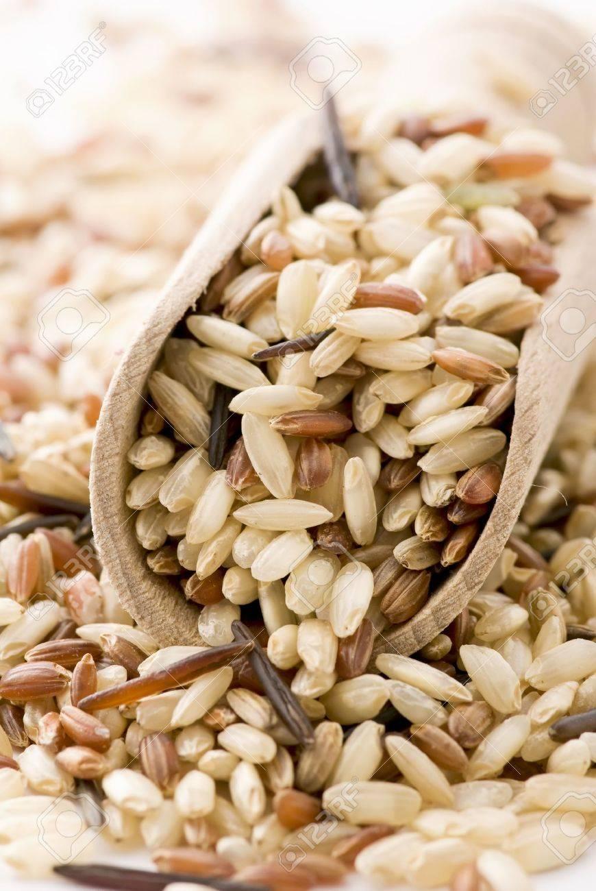 Brown Rice Stock Photo - 9036864