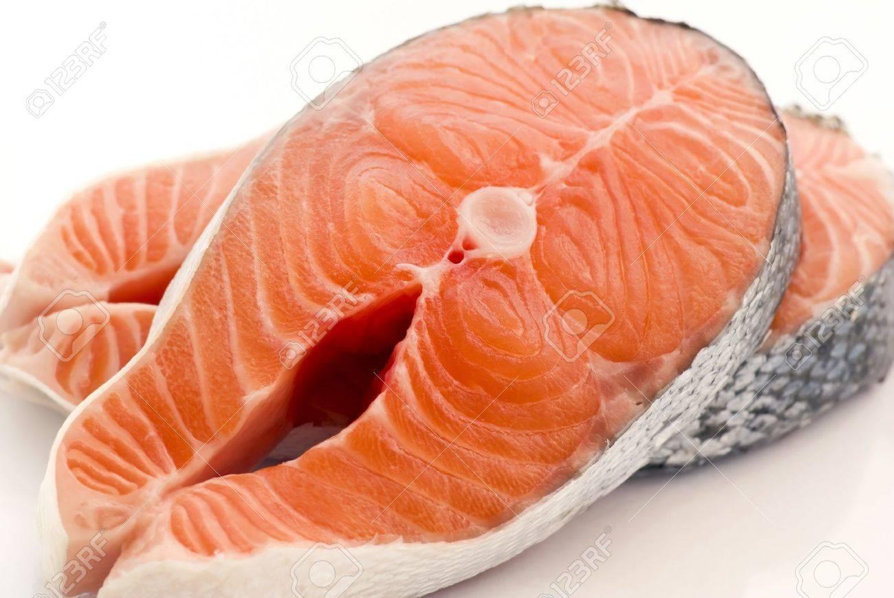 Salmon Steak Stock Photo - 9034902
