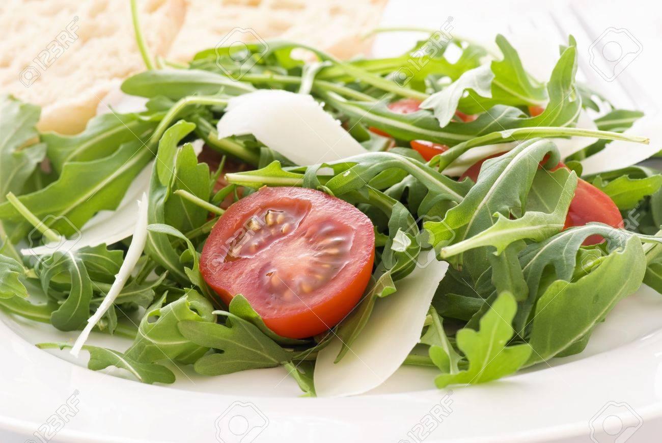 Rocket Salad Rocket Salad With Tomato And Pecorino