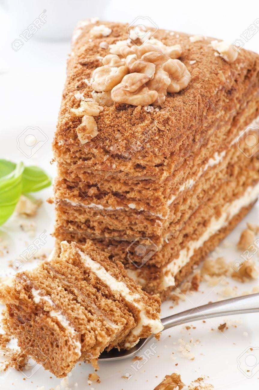 Honey Cake Stock Photo - 9641764