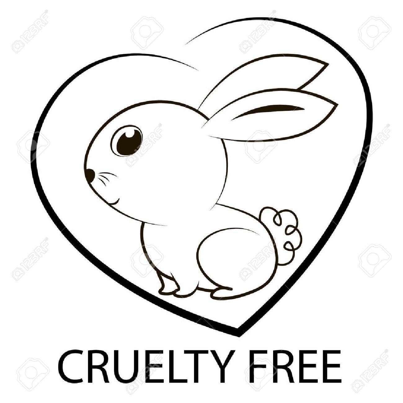 Vettoriale Crudeltà Verso Gli Animali Icona Di Disegno Libero