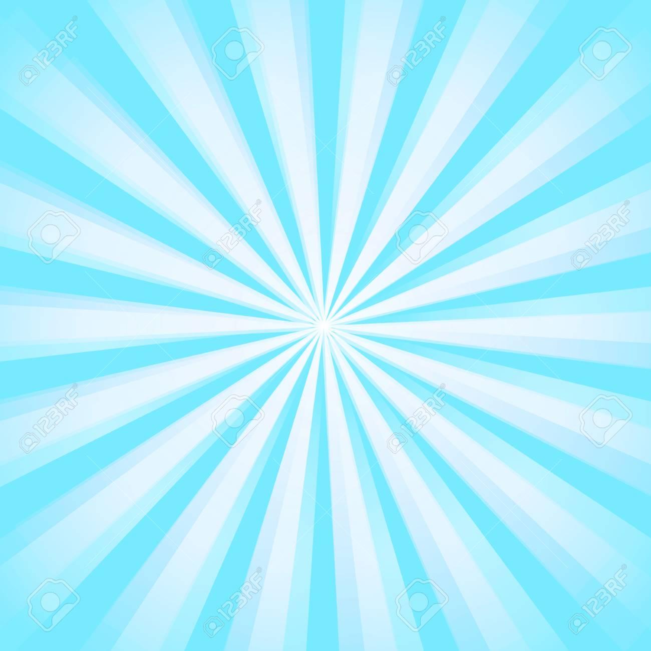 887dd9a0f5d Shiny sun ray background. Sun Sunburst Pattern. Blue rays summer..