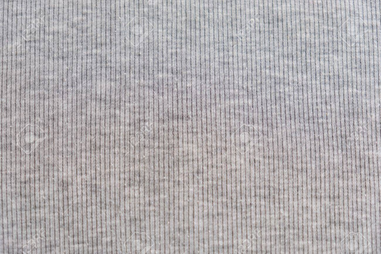 Grey Heather Texture Fabric Background With Delicate Striped Pattern Real