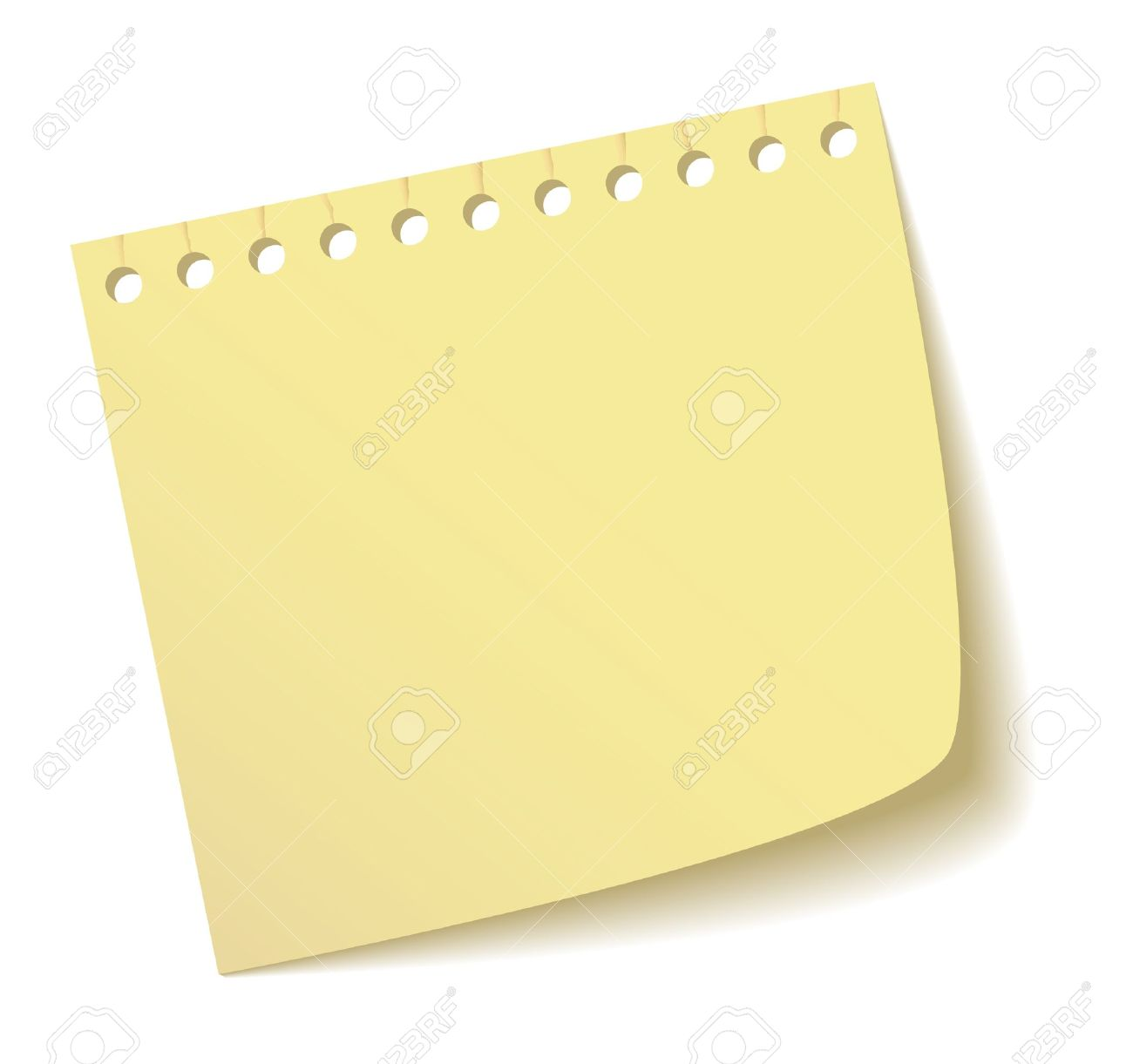 The sheet of a notebook Stock Vector - 10436480