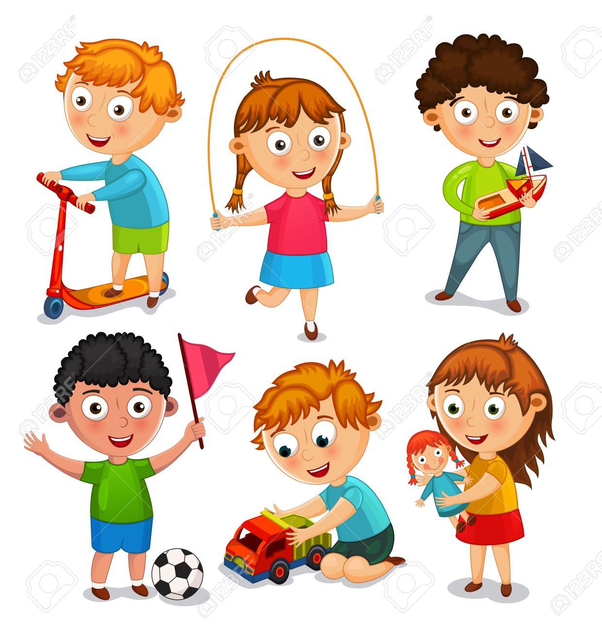 Et Corde Jouent Sautent JouetsGarçons Sont BalleFilles Une Enfants La Les Jouet Avec Des Voiture ScooterEn Jouant Un bf7mvYgyI6