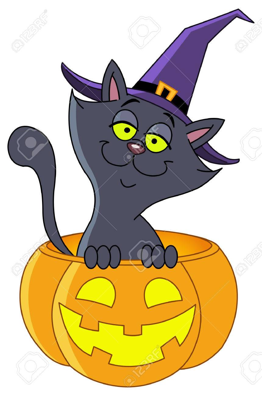 Halloween Cat Images & Stock Pictures. Royalty Free Halloween Cat ...