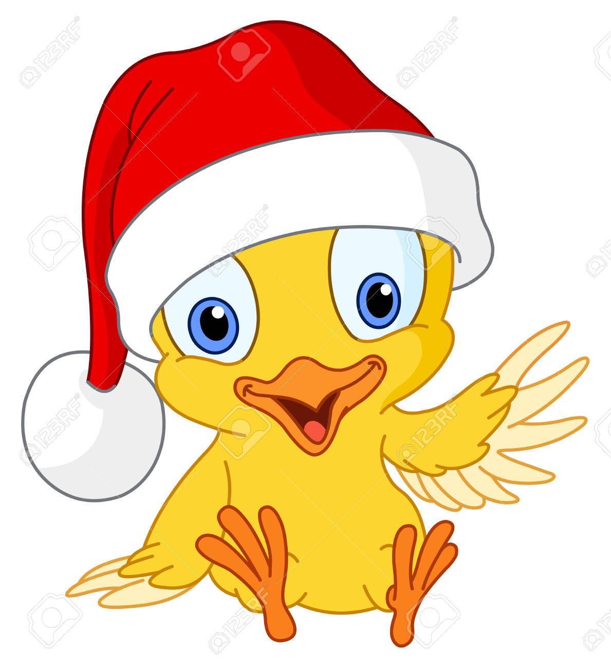 Christmas chick Stock Vector - 8057355