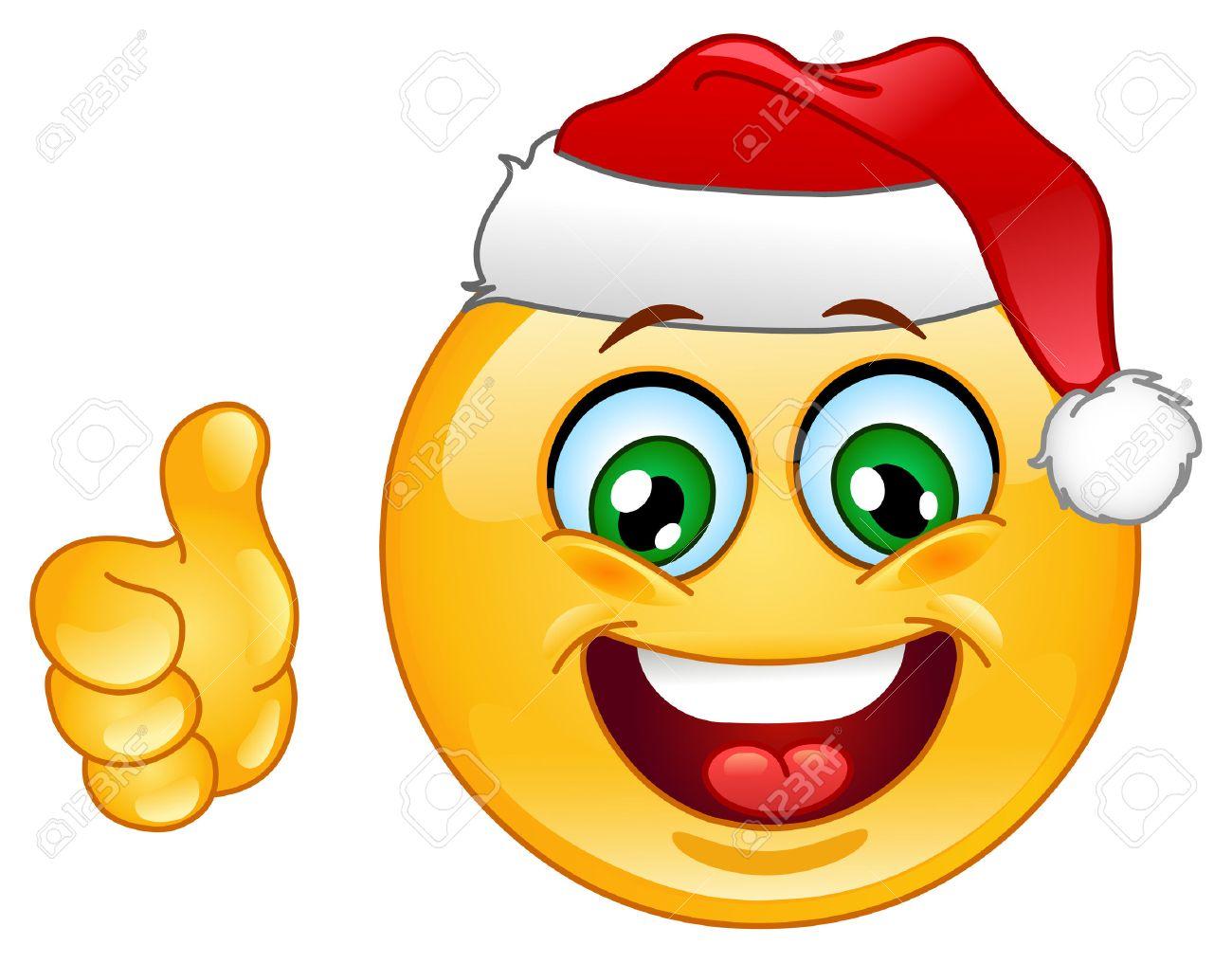 http://previews.123rf.com/images/yayayoy/yayayoy1011/yayayoy101100028/8266378-Christmas-emoticon-with-thumb-up-Stock-Photo.jpg