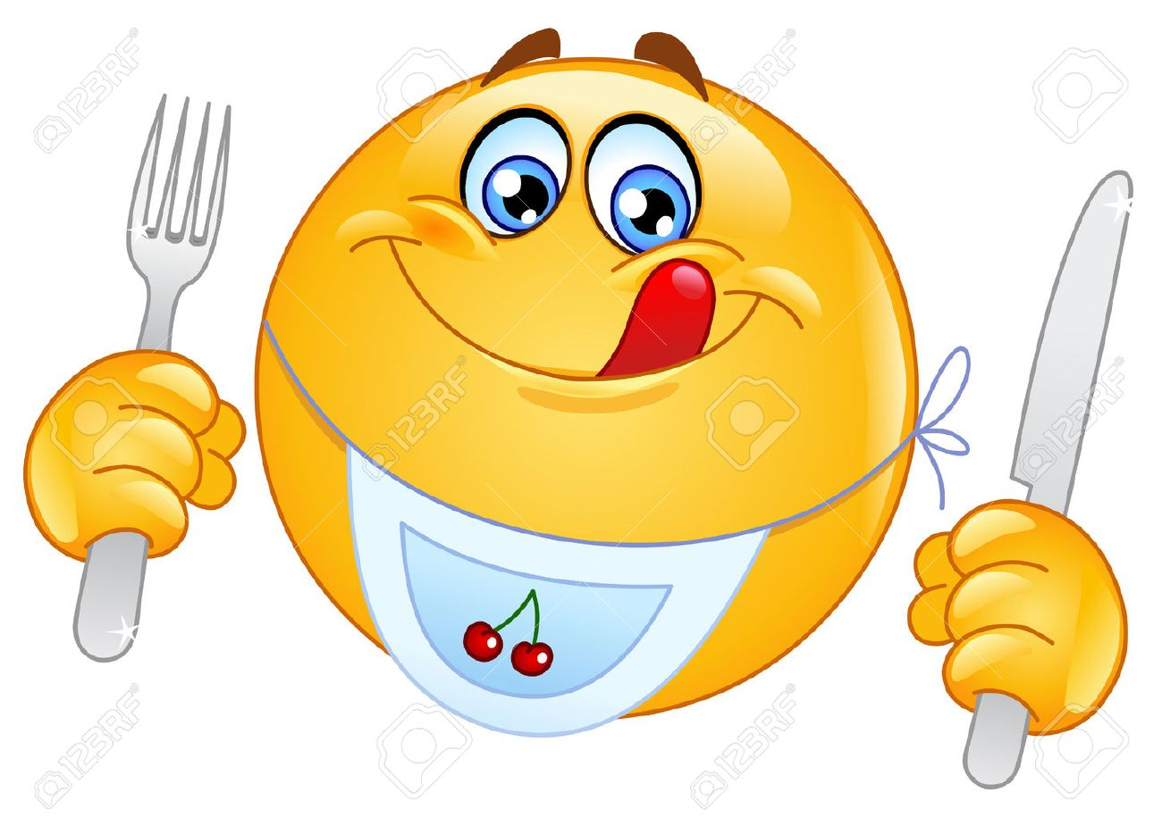 Emoticon Eating An Apple Royalty Free Cliparts, Vectors, And Stock ...