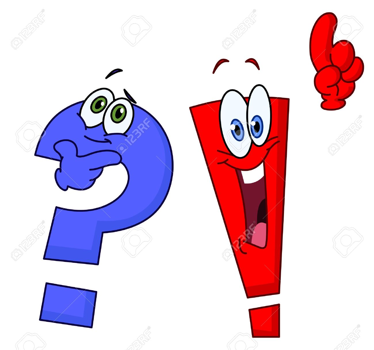 Pics photos clip art cartoon scientist with question mark stock - Wondering Cartoon Question And Exclamation Marks Illustration