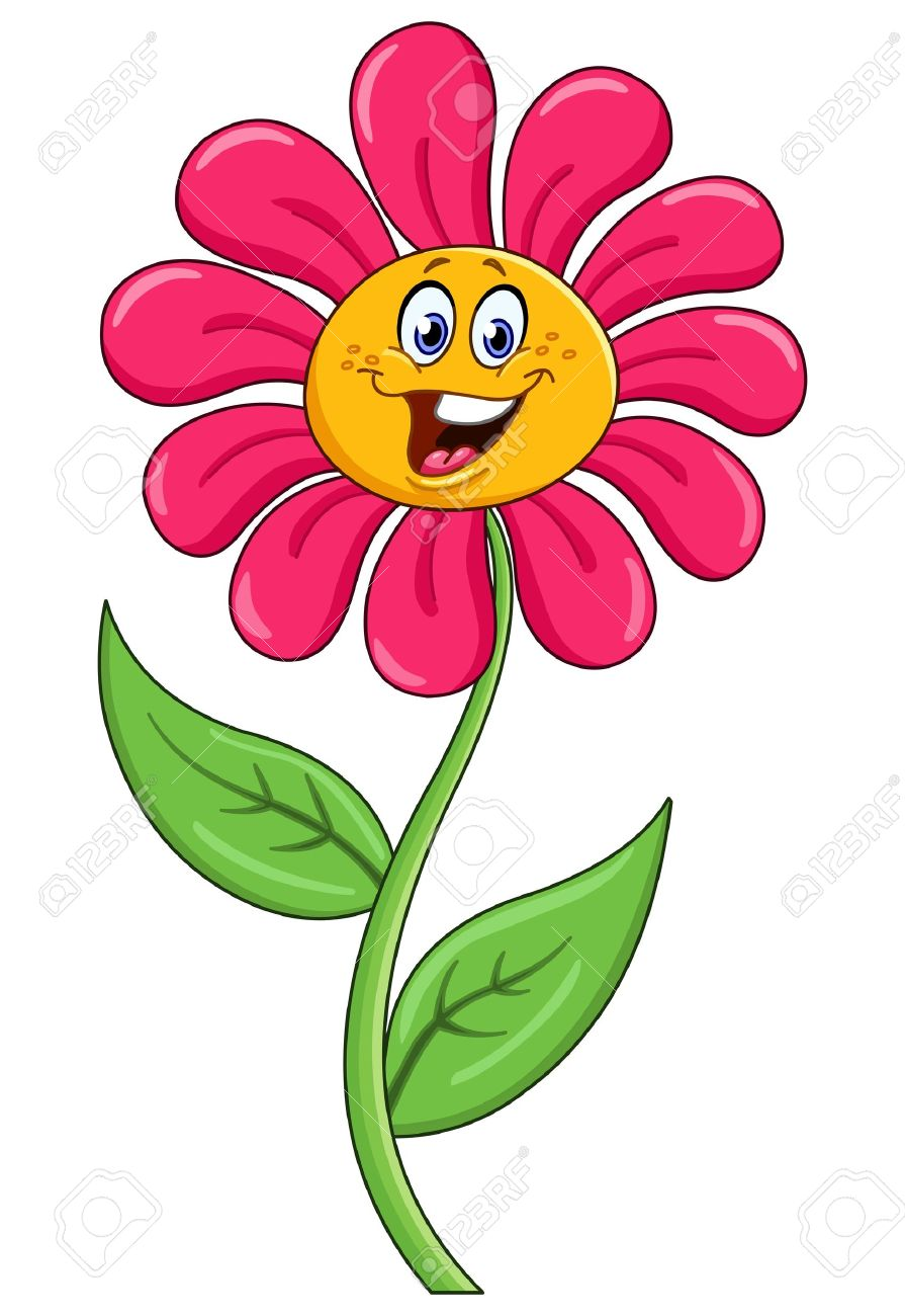 cartoon flower royalty free cliparts vectors and stock