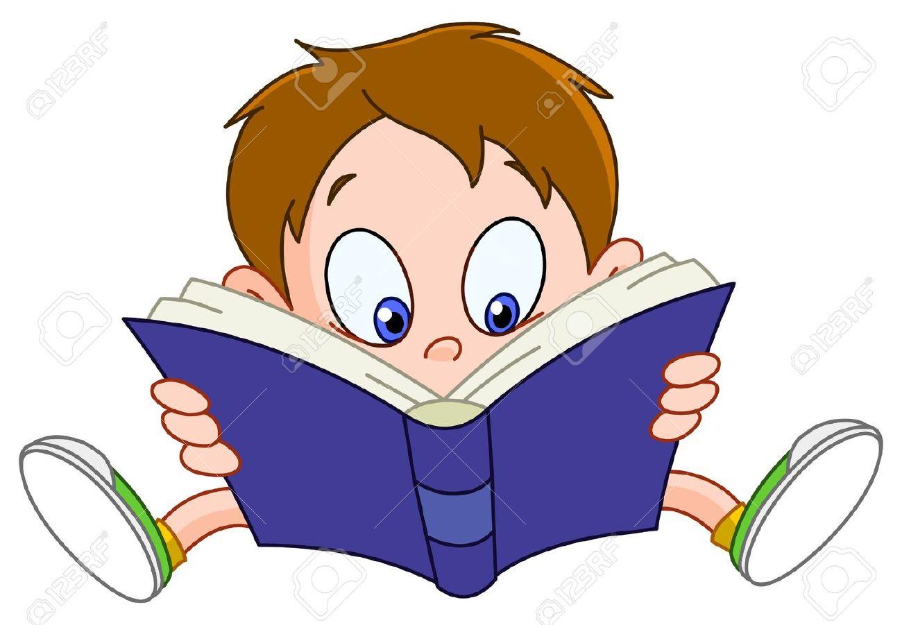 Cartoon Pics Reading Books Reading a Book Cartoon