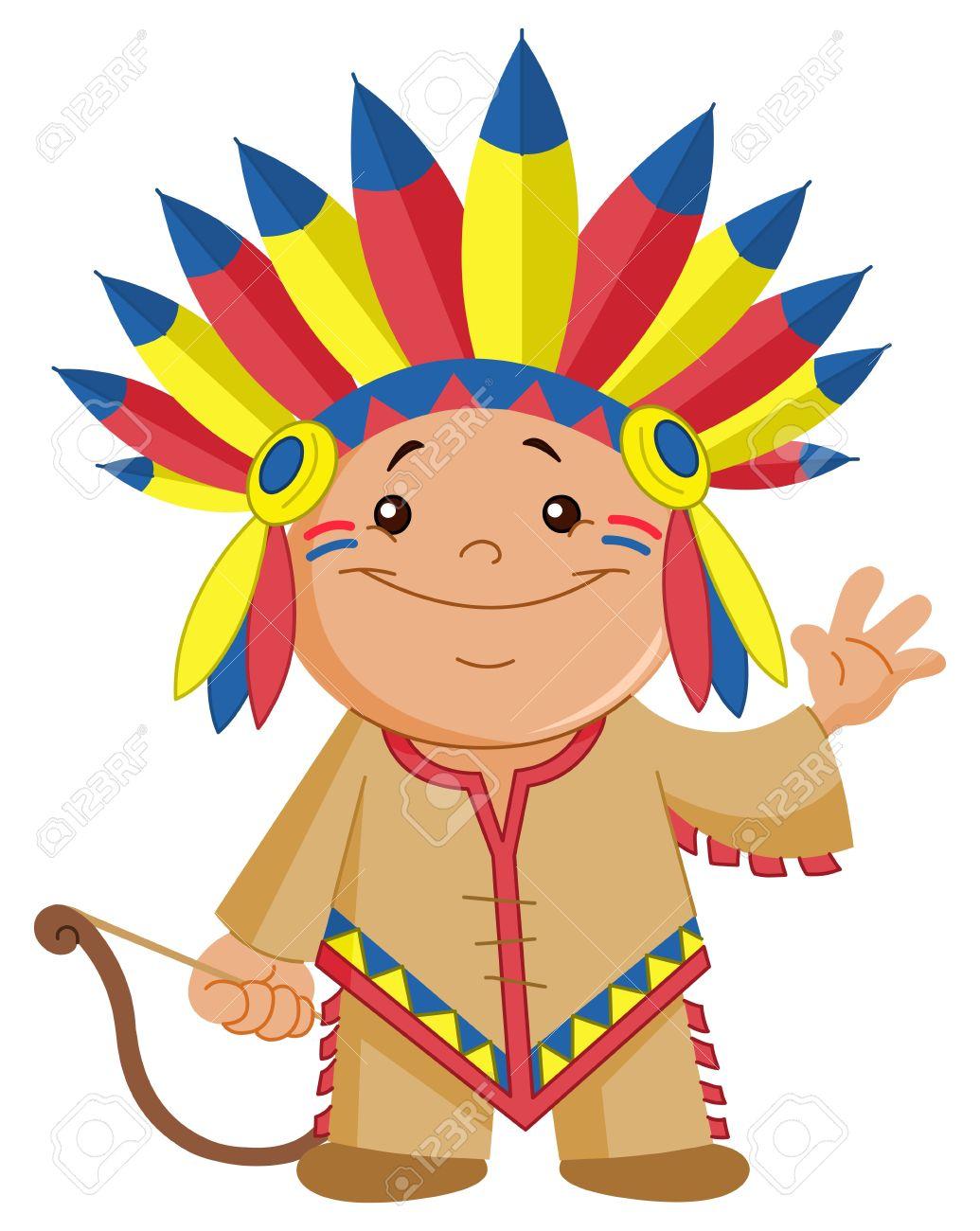Indian Kid Waving Hello Royalty Free Cliparts, Vectors, And Stock ...