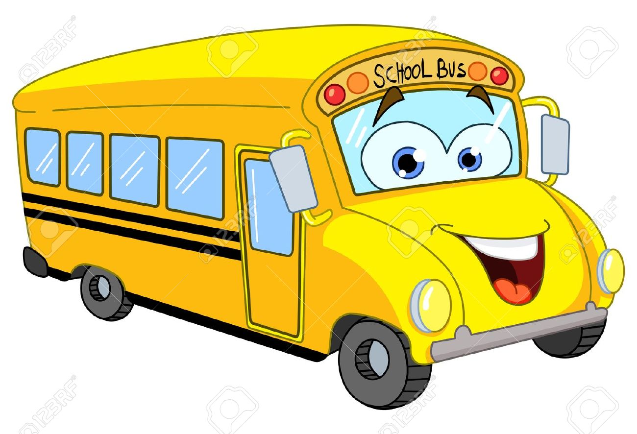 Cartoon school bus Stock Vector - 10318646