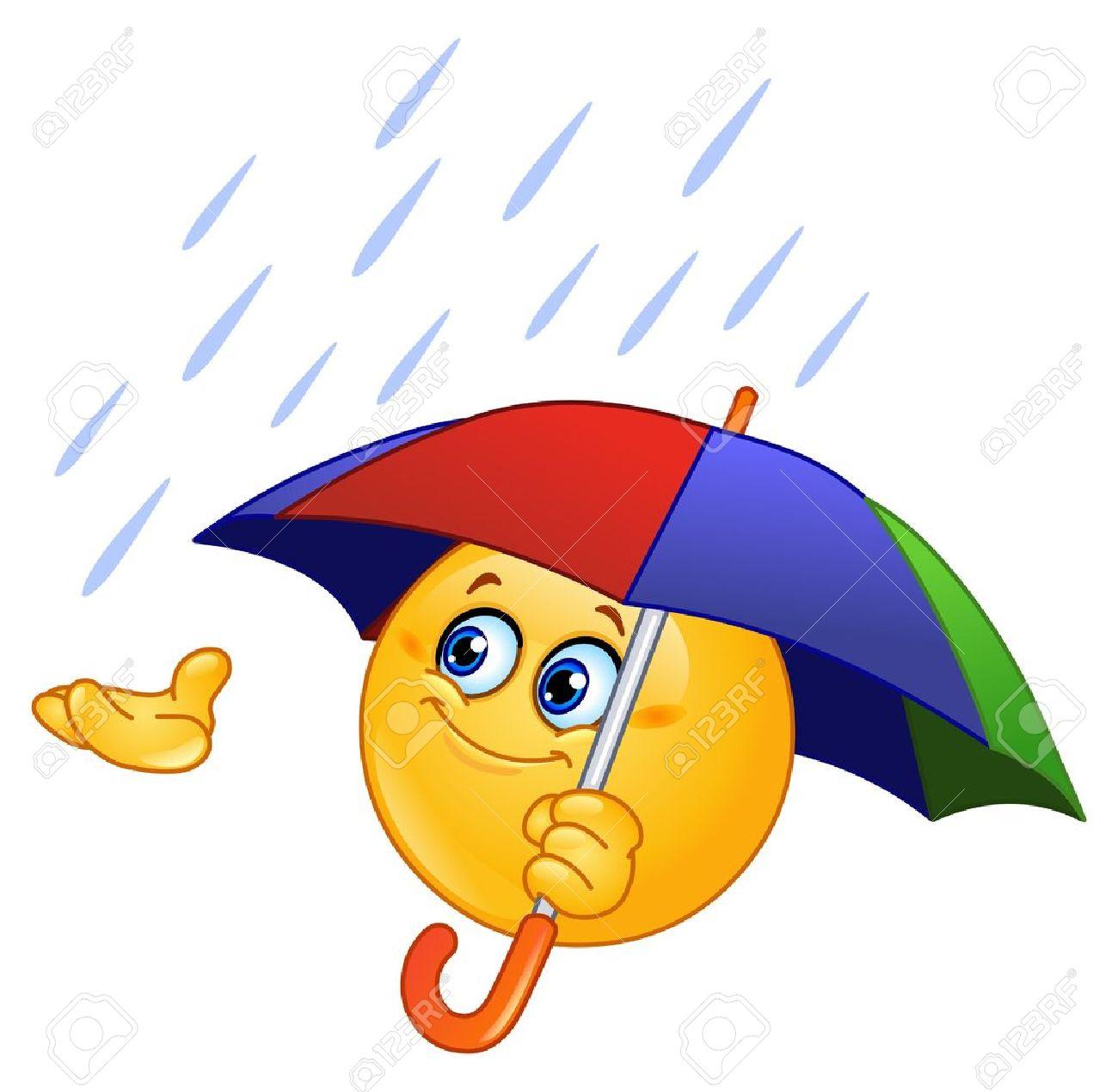 """Résultat de recherche d'images pour """"smiley parapluie"""""""