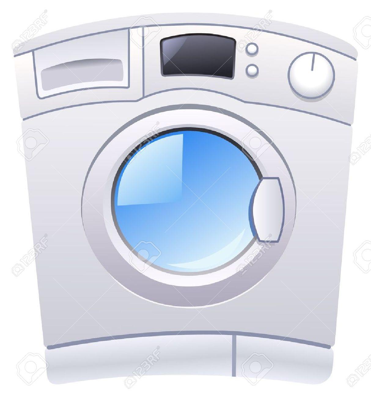 Waschmaschine clipart  Waschmaschine Lizenzfrei Nutzbare Vektorgrafiken, Clip Arts ...