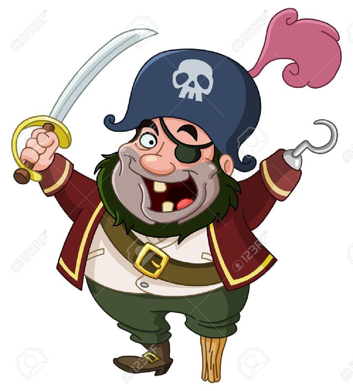 Cartoon pirate Stock Vector - 12582521