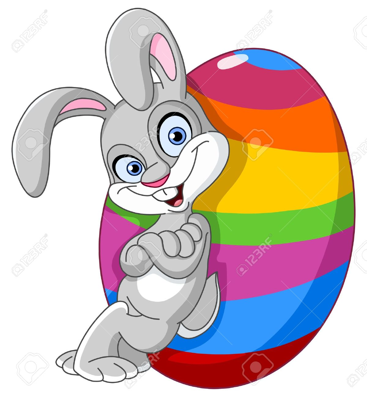 45,508 Easter Bunny Stock Vector Illustration And Royalty Free ...