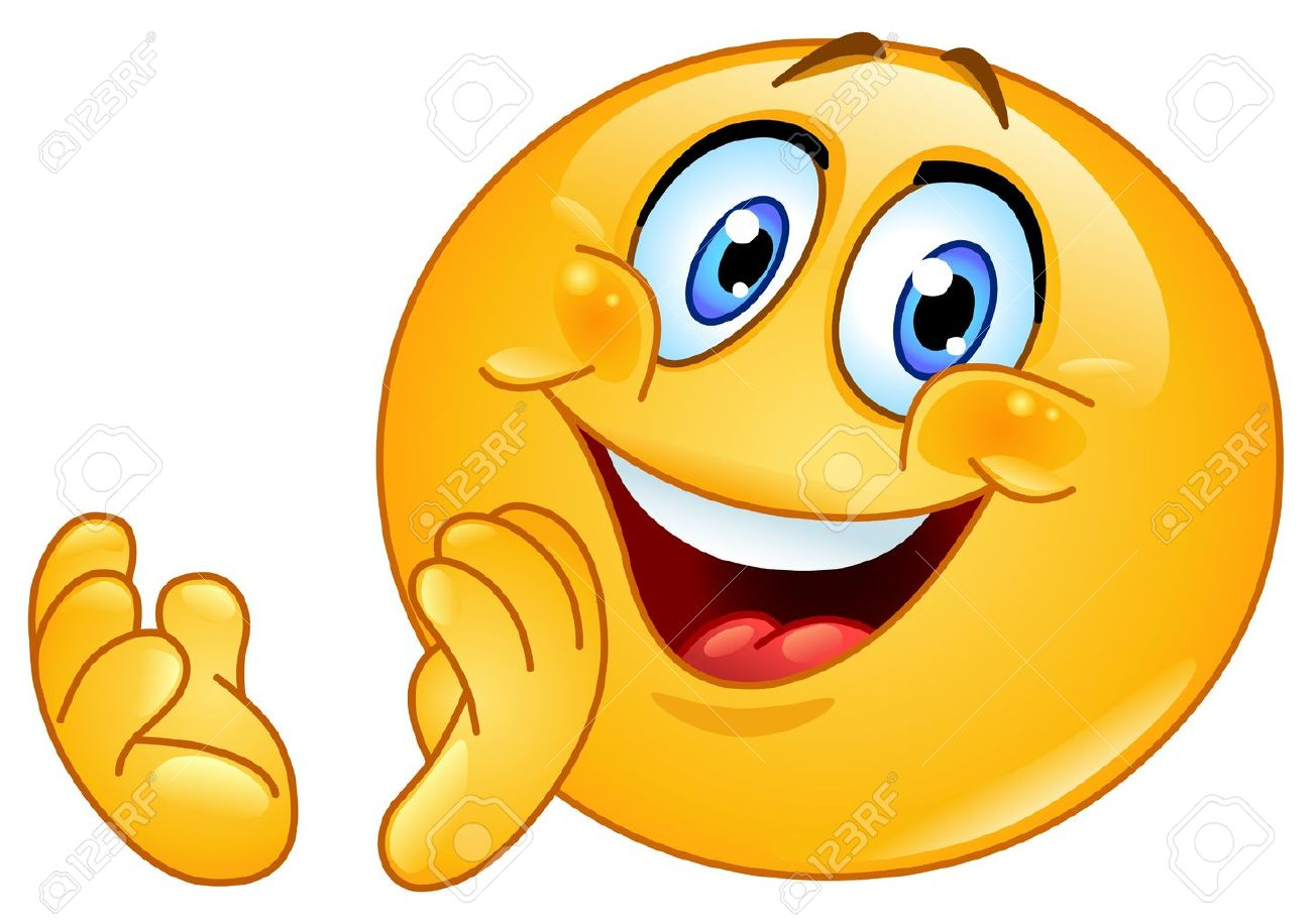 Emoticon Clapping Royalty Free Cliparts, Vectors, And Stock Illustration. Image 13172924.