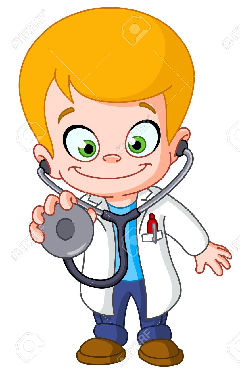 doctor kid Kid doctor Stock Vector - 13677714