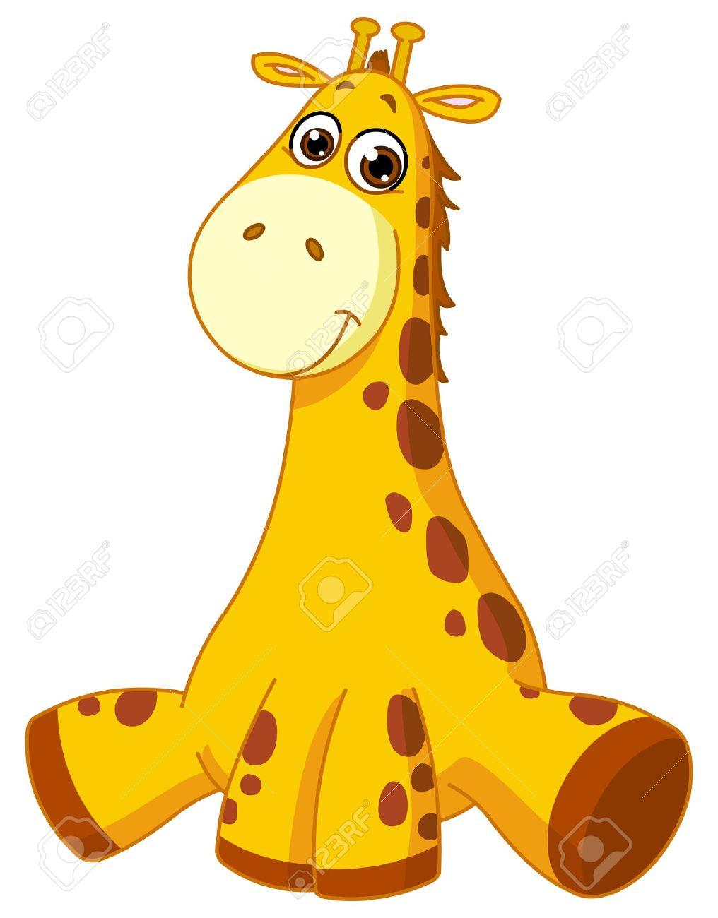 Baby giraffe Stock Vector - 16215402