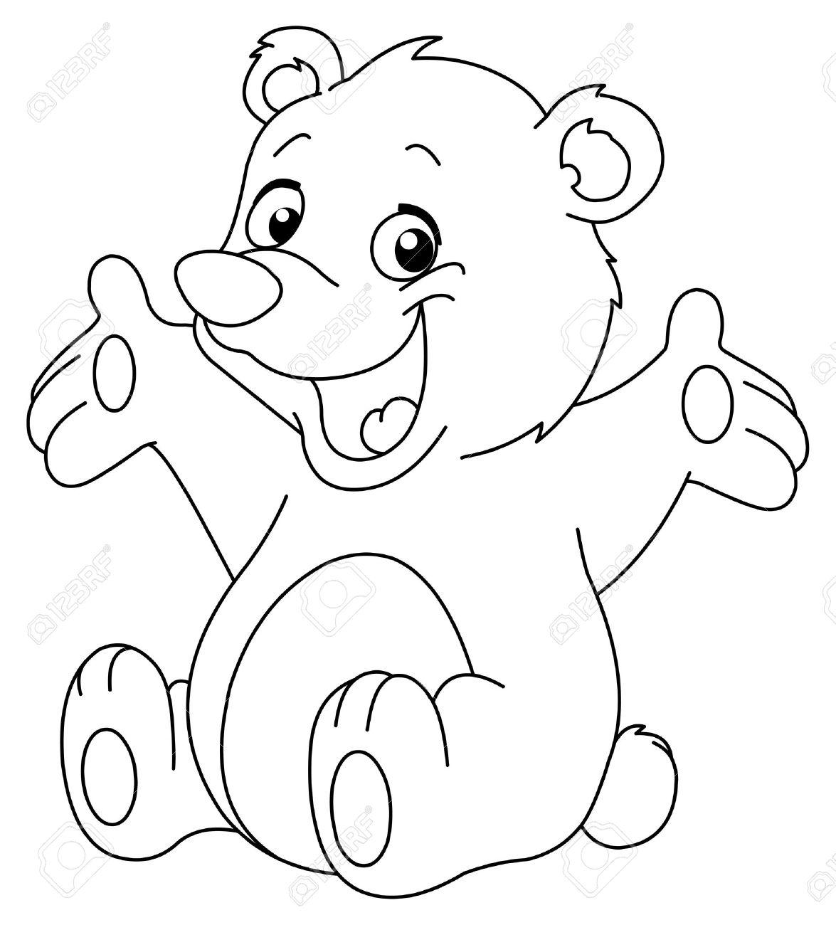 Erfreut Teddybären Malvorlagen Zeitgenössisch - Malvorlagen Von ...