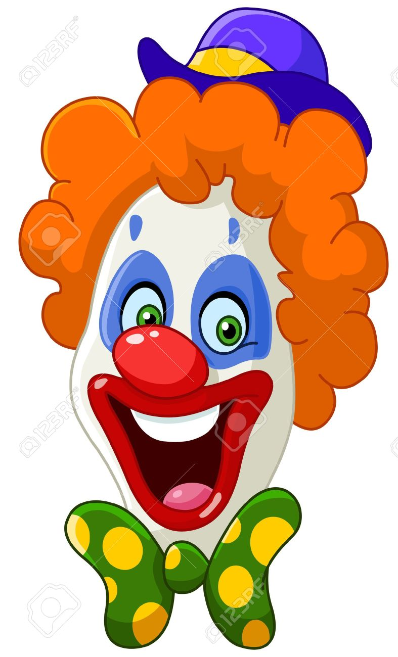 Clown face - 19754645