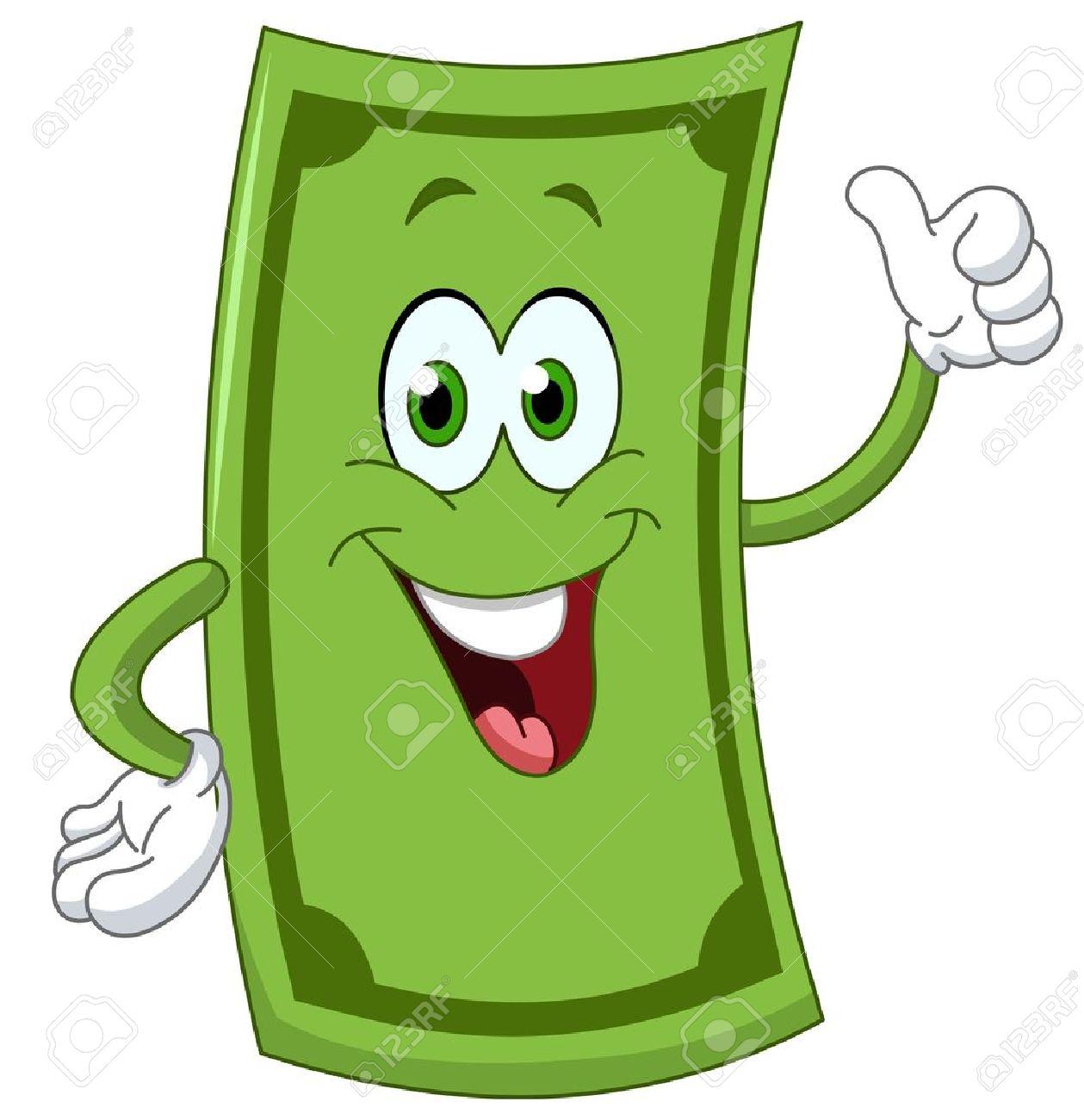 Bancos Dibujos Animados Dibujos Animados Dólar