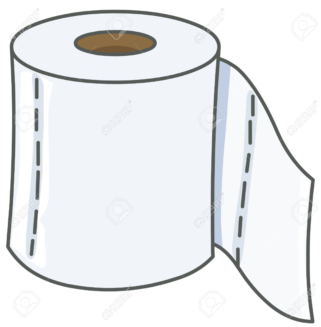 vector toilet paper royalty free cliparts vectors and stock rh 123rf com toilet rolls clipart toilet paper holder clipart