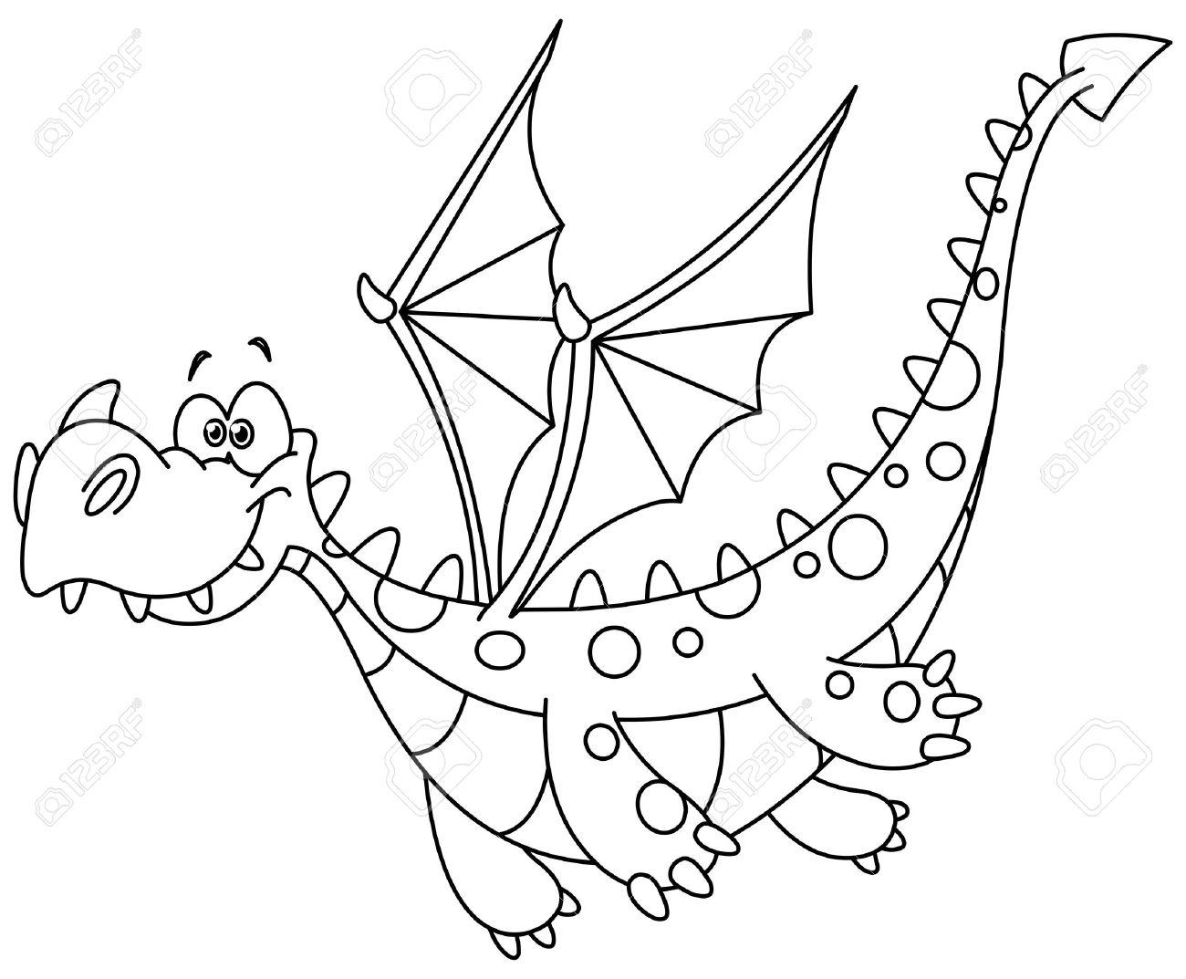 Hermosa Colorear Dragones Lindos Fotos - Dibujos Para Colorear En ...